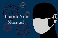 Nursing Heroes Saving Lives Everyday Thank You Covid Crisis Year of the Nurse